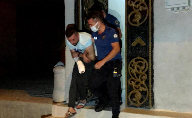 Adanada karısını ve çocuklarını darp eden şüpheli yakalandı